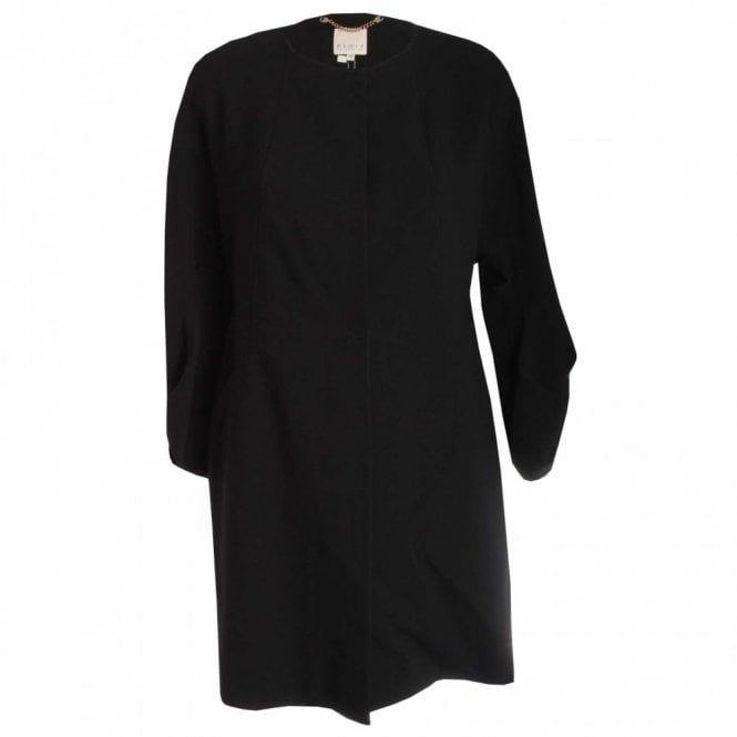Paola Collection Women's Bell Sleeve Dress Coat