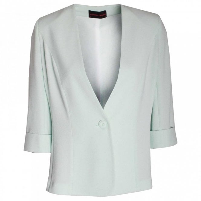 Hudson & Onslow Women's Blazer With Turn Up Cuffs