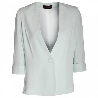 Women's Blazer With Turn Up Cuffs