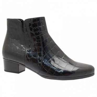 Women's Block Heel Ankle Boot