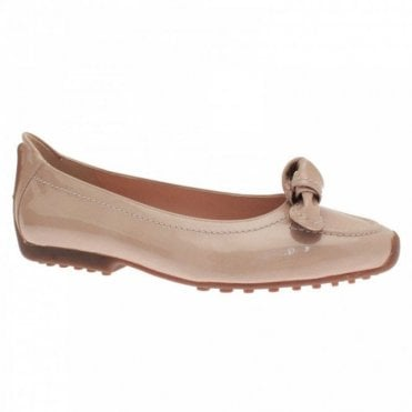 Women's Bow Detail Slip On Flat Pump