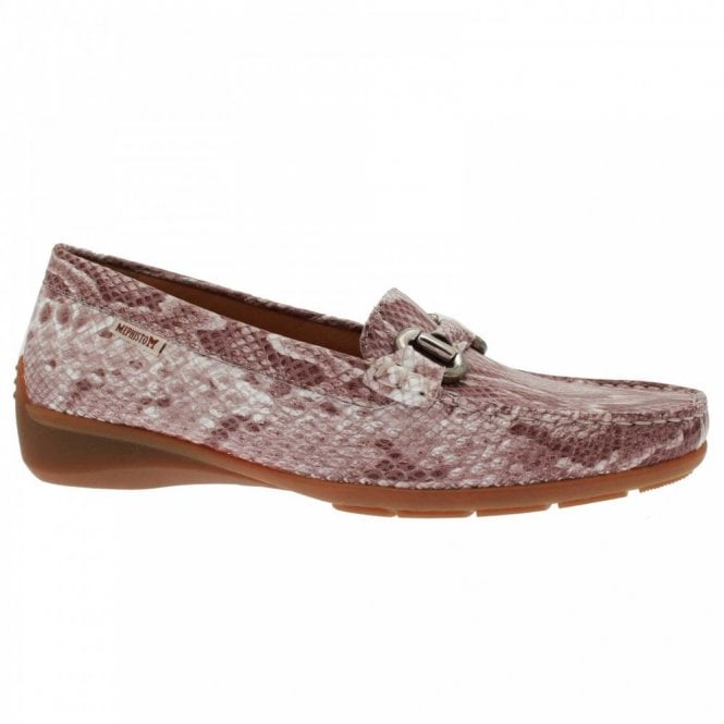 Mephisto Women's Buckle Detail Moccasin Shoe