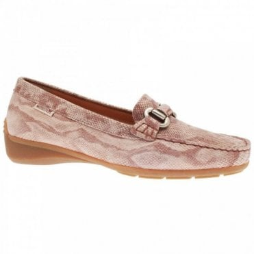 Women's Buckle Detail Moccasin Shoe