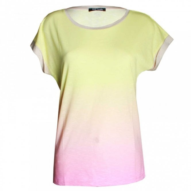 Betty Barclay Women's Candy Colour Short Sleeve Top