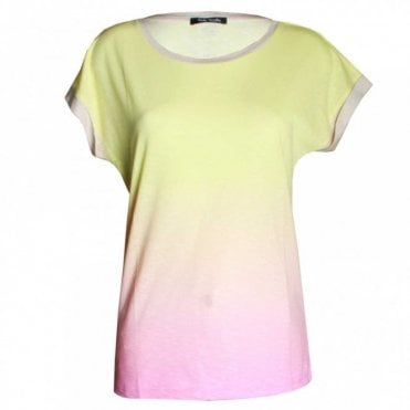 Women's Candy Colour Short Sleeve Top