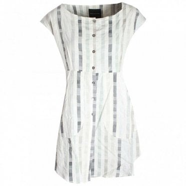 Women's Capped Sleeve Stripe Tunic