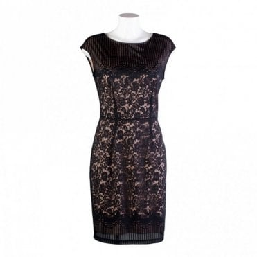 Women's Classic Sleeveless Lace Dress