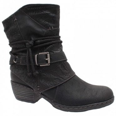 Women's Cowboy Style Ankle Boot