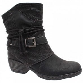Rieker Women's Cowboy Style Ankle Boot