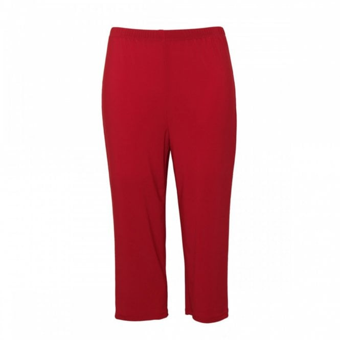 Frank Lyman Women's Cropped Jersey Trousers