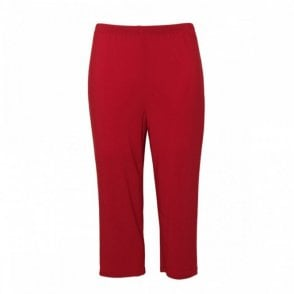 Women's Cropped Jersey Trousers