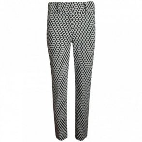 Women's Diamond Check Tailored Trousers