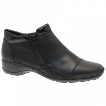 Women's Double Side Zip Ankle Boots
