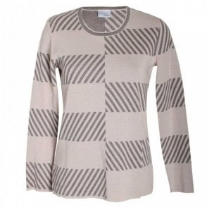 Faber Women's Fine Knit Long Sleeve Jumper