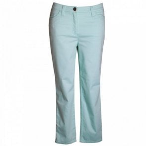 Women's Fitted Hips Crop Trousers