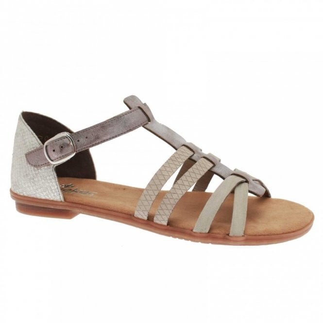 Rieker Women's Flat Strappy Sandals