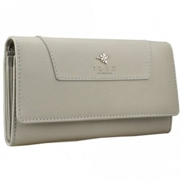 Women's Fold Over Long Leather Purse
