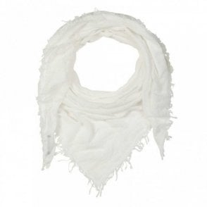 Women's Fringe Edge Plain Long Scarf