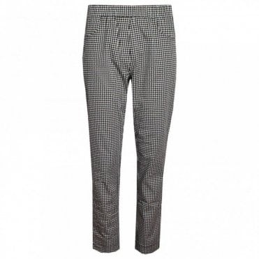 Women's Geometric Print Trousers