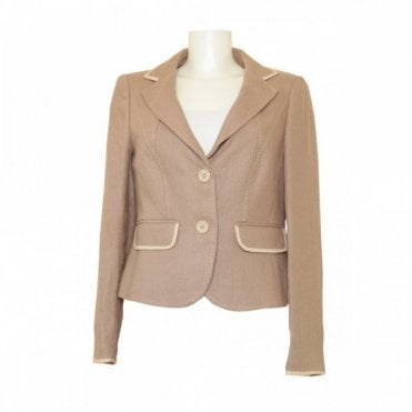 Women's Heavy Long Sleeve Linen Jacket