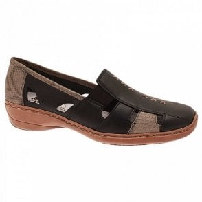 Women's High Front Moccasin Shoe