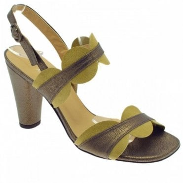 Audley Women's High Heel Ankle Strap Sandal