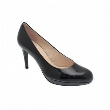 Women's High Heel Platform Court Shoe