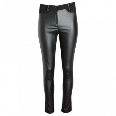 Women's Jersey & Leatherette Trousers