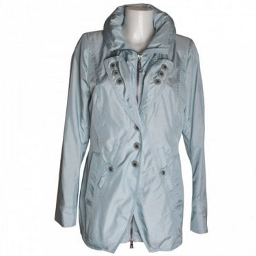 Women's Lightweight Button Short Coat