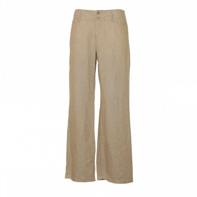 Mac Jeans Women's Linen Feminine Fit Trousers