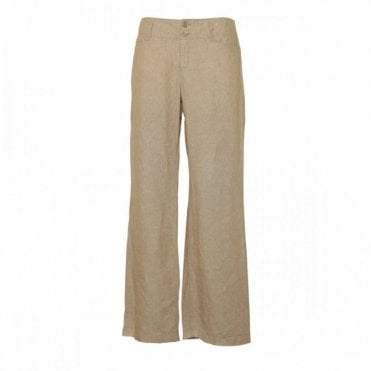 Women's Linen Feminine Fit Trousers