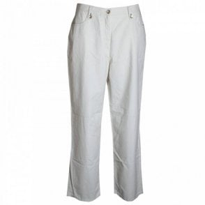 Women's Long Cotton Pocket Trousers
