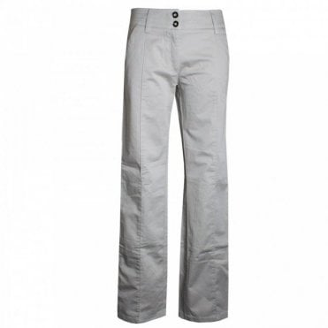 Women's Long Double Button Trousers
