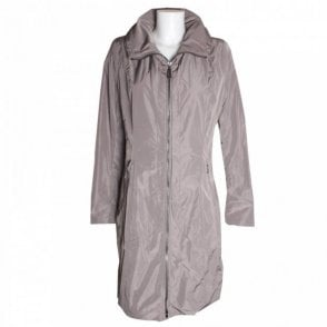 Women's Long Matte Trench Coat