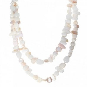 Women's Long Shell Necklace