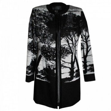 Women's Long Sleeve Edge To Edge Coat