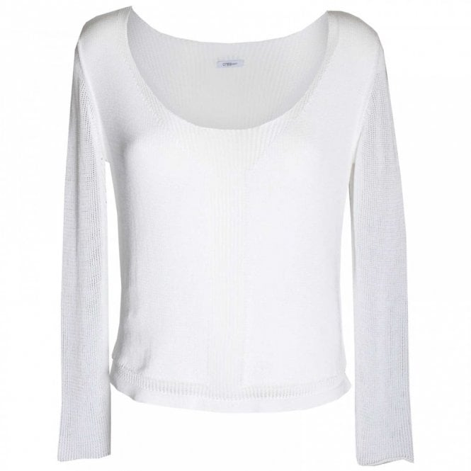 Crea Concept Women's Long Sleeve Fine Knit Jumper