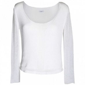 Women's Long Sleeve Fine Knit Jumper