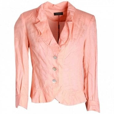 Women's Long Sleeve Frill Detail Jacket