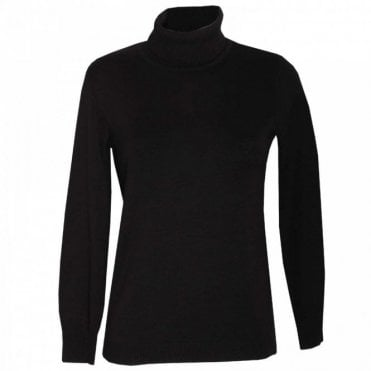 Women's Long Sleeve Knit Polo Jumper