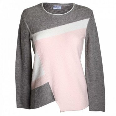Women's Long Sleeve Panel Jumper