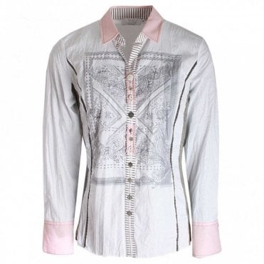 Women's Long Sleeve Printed Shirt