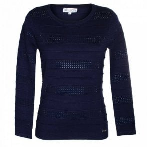 Passioni Women's Long Sleeve Round Neck Jumper