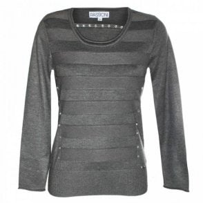 Women's Long Sleeve Round Neck Jumper