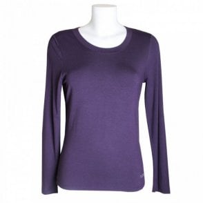Tuzzi Women's Long Sleeve Scoop Neck Top