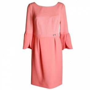 Women's Long Sleeve Shift Dress