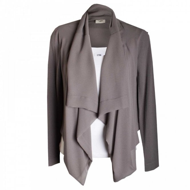 Crea Concept Women's Long Sleeve Soft Flow Jacket