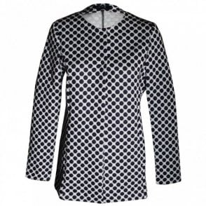 Women's Long Sleeve Spotted Jacket