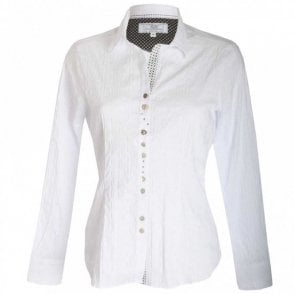 Women's Long Sleeve Stretch Cotton Shirt