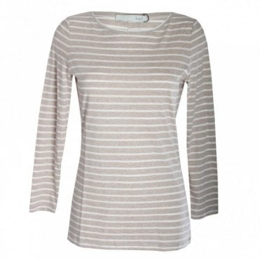 Women's Long Sleeve Stripe Top